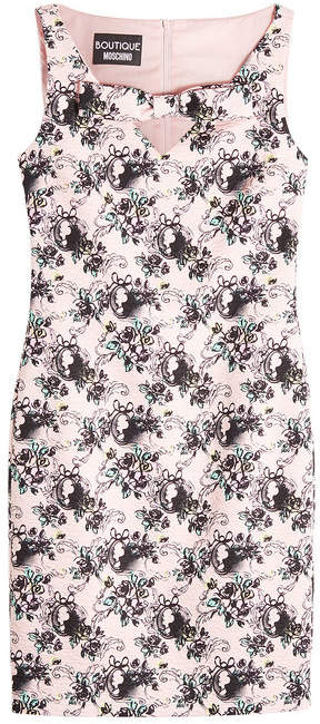 Moschino Jacquard Sheath Dress