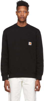 Carhartt Work In Progress Black Pocket Sweatshirt