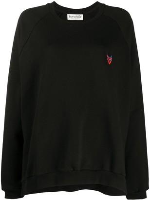 Être Cécile Logo Embroidered Sweatshirt