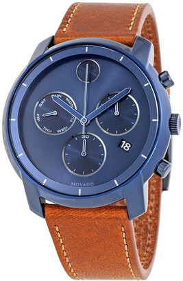 Movado Men's Leather Watch