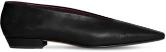 Bottega Veneta 10mm Almond Leather Ballerinas