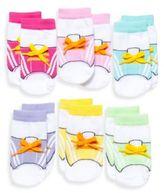 Elegant Baby 6-Pack Gym E Socks