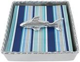Mariposa Shark Twist Napkin Box