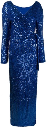 P.A.R.O.S.H. Sequin Evening Gown