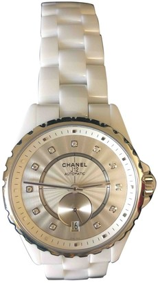 Chanel J12 Automatique White Rubber Watches