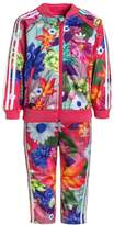 adidas SET Tracksuit top multicolor/real pink/white