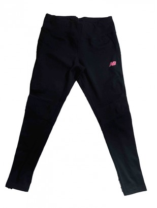 New Balance Black Cotton Trousers for Women