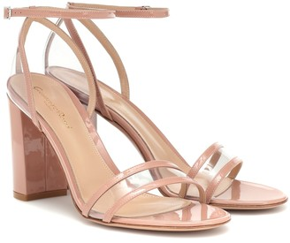 Gianvito Rossi Exclusive to Mytheresa Sheryl 85 patent leather sandals