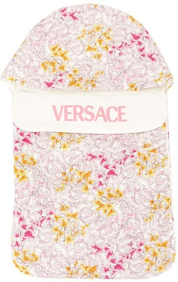 Versace Barocco Edera-print cotton nest