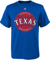Majestic Boys' Texas Rangers Electric Ball T-Shirt
