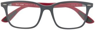 Ray-Ban RB7144 square-frame glasses