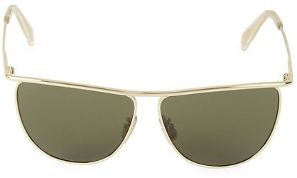 Thumbnail for your product : Celine 60MM Square Metal Sunglasses