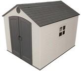 Lifetime Storage Building Shed - 8' x 10' - Desert Sand
