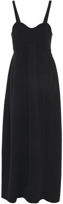 Jil Sander Brushed Wool Maxi Dress