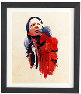 DENY Designs Marty Mcfly by Robert Farkas (Framed)