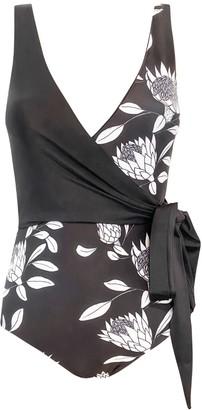Baiia Protea Reversible Wrapsuit