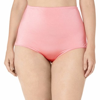 Ahh By Rhonda Shear Women's Plus Size Lace Trim Brief