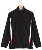 adidas Boys' Colorblock Zip-Up Jacket