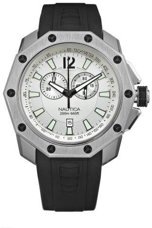 Nautica Men's N24515G NVL100 Black Resin Watch