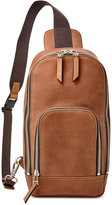 Fossil Miller Leather Crossbody Backpack