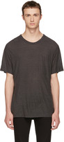 Alexander Wang Grey Slub T-Shirt