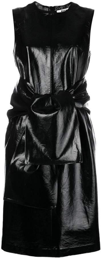 MSGM vinyl dress