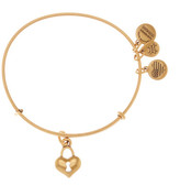 Alex and Ani Key to My Heart Expandable Wire Bangle