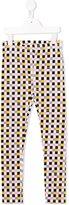 Fendi geometric print leggings