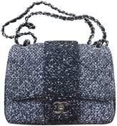 Chanel Timeless/Classique Black Tweed Handbags