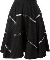 Antonio Marras pinstripe skirt - women - Polyester/Spandex/Elastane/Viscose - 44