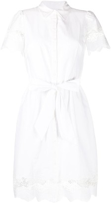 Lauren Ralph Lauren Lace-Embellished Shirt Dress