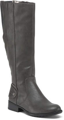 Wide Size Wide Calf Comfort Riding Boots