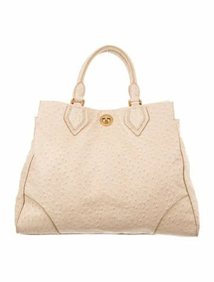 Marc by Marc Jacobs Ostrich Handle Bag gold