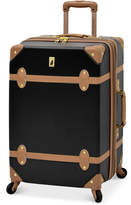 "London Fog Retro 24"" Expandable Spinner Suitcase"