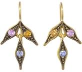 Cathy Waterman Sapphire Flex Wheat Earrings