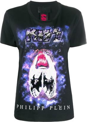 Philipp Plein Rock band T-shirt