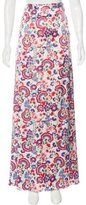 ALICE by Temperley Floral Print Maxi Skirt