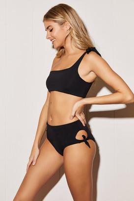 Ardene High Waist Full Bikini Bottom
