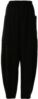 Y's Cropped Tapered Trousers