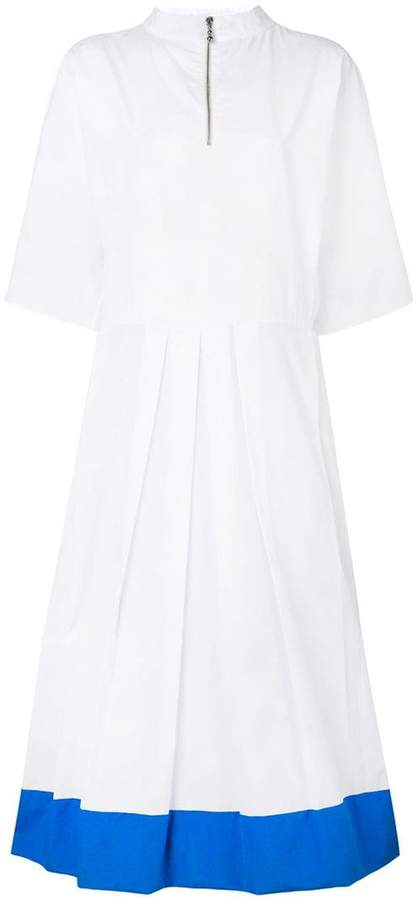 Marni block colour shirt dress