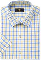 Club Room Men's Classic/Regular Fit Short Sleeve Dress Shirt, Only at Macy's
