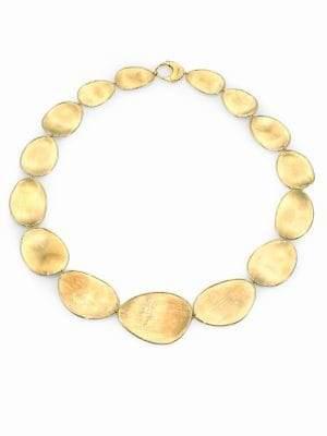 Marco Bicego Lunaria 18K Yellow Gold Collar Necklace