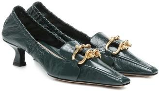 Bottega Veneta Madame leather pumps