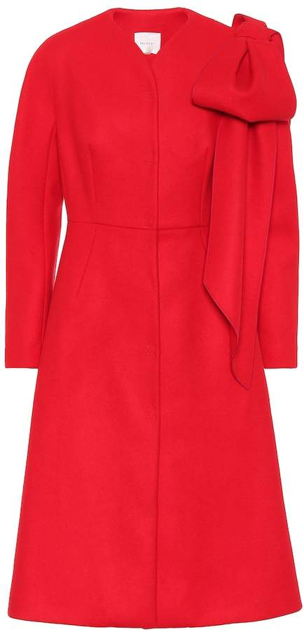 DELPOZO Wool and cashmere coat