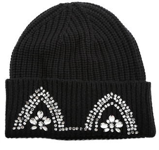 Markus Lupfer Embellished Cat Ear Beanie