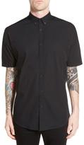 Zanerobe Longline Rugger Long Sleeve Oversized Fit Shirt