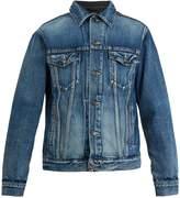 Balenciaga Contrast-panel denim jacket