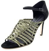 Elie Tahari Poppy Women Pointed Toe Suede Black Heels.