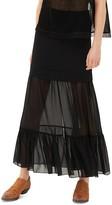 Sandro Jesse Illusion Maxi Skirt