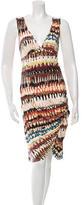 Rochas Printed Knee-Length Dress w/ Tags